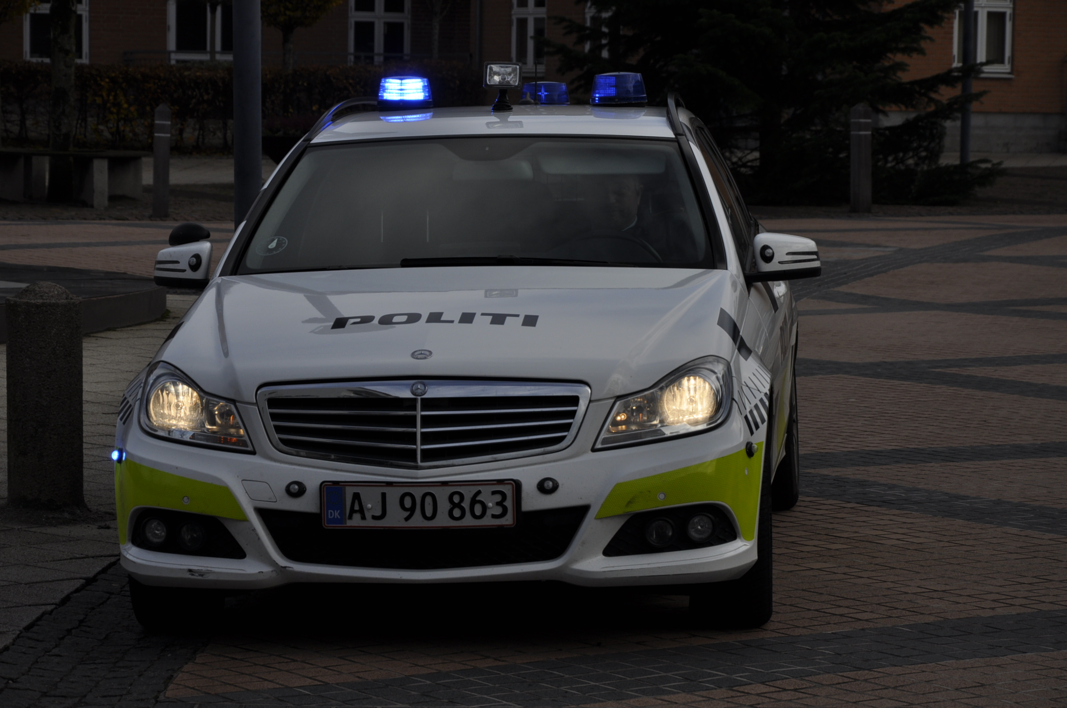 Politiet havde en relativt rolig nytårsaften.