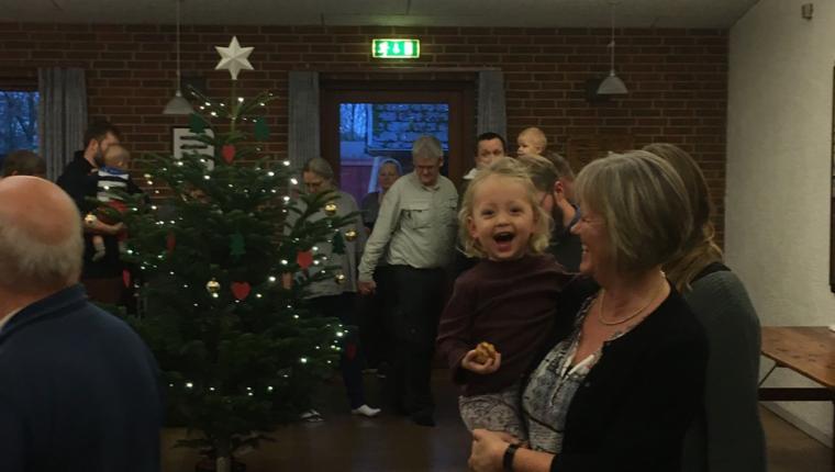 Juletræsfest i Sønderup
