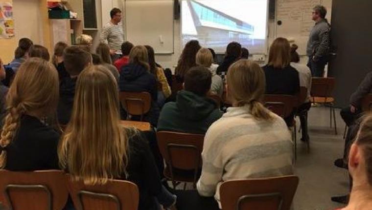 Vester Hornum Skole stikker til søs