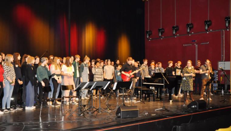 Unge musiktalenter gav den gas i ALFA