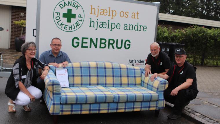 Møbler hæver omsætning i Genbrugsbutik i Aars
