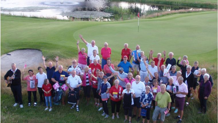 Golf til fordel for Kræftens Bekæmpelse