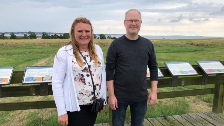 Vikinger indtager Aggersborg i en måned