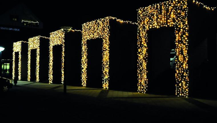 Handelsstandsforening får nej til at sætte julelys på Kimbrermuren