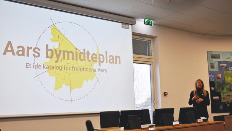 Skurvogn som samlingspunkt for byudviklingsplan for Aars