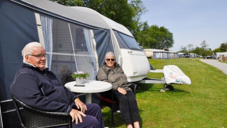 Stor ros fra gæsterne til campingplads i Hornum