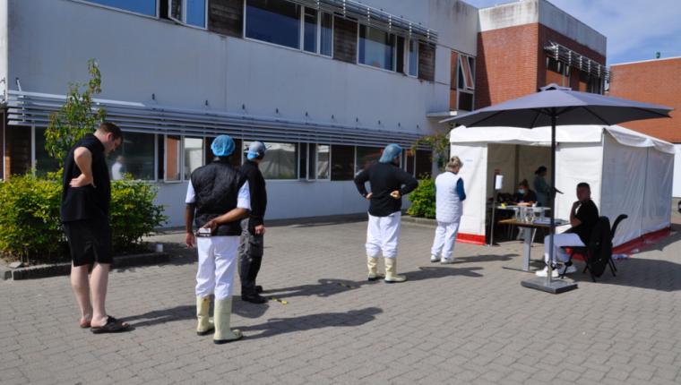 300 medarbejdere testes på Danpo i Aars