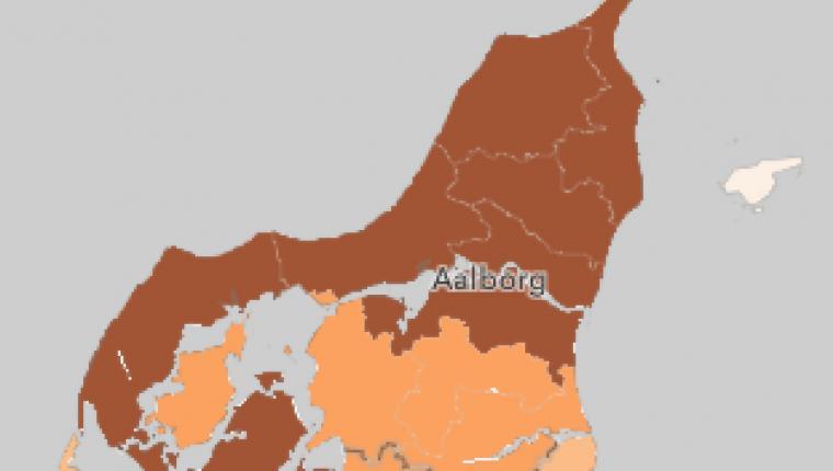 Covid-19: 859 nye smittede - 10 tilfælde i Vesthimmerland - plejepersonale bekræftet smittet