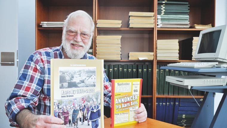 Lokal forfatter udgiver to jubilæumsbøger om Aars