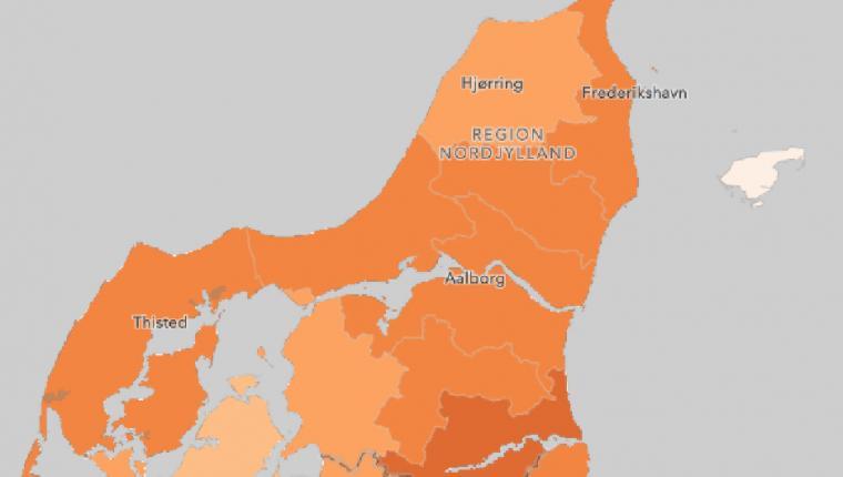 Corona: Vesthimmerland ligger fortsat lavt
