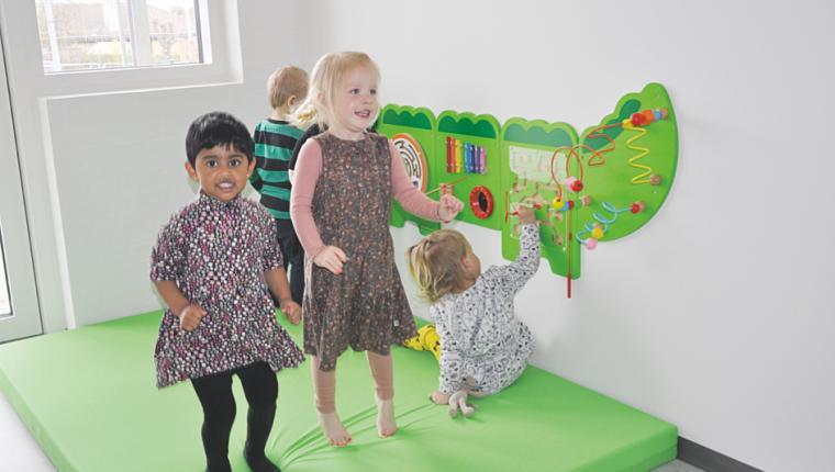 Børneuniverset i Aars er åbnet