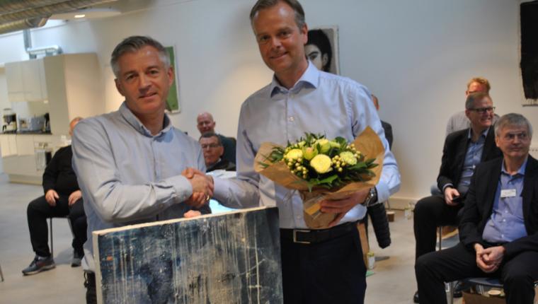 Klaus Buus i Aars hædret for foretagsomhed