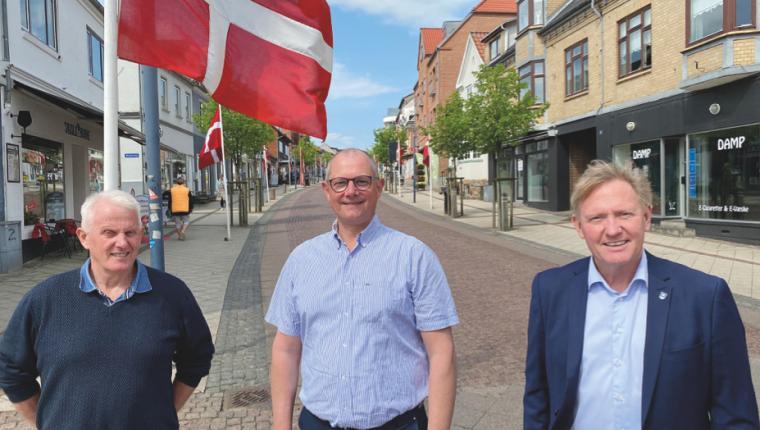 Forpligtende samarbejde mod butiksdød i Aars