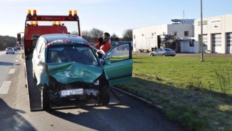 Alvorlig ulykke ved St. Binderup