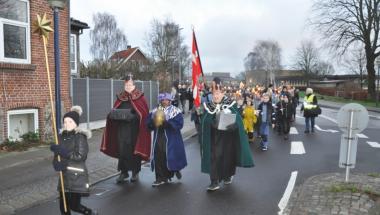 Hundrede i optog til helligtrekonger