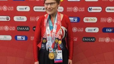 Fire medaljer til udøver fra Aars ved World Games