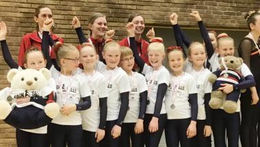 Både piger og drenge fra Aars tog medaljer