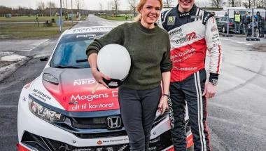 Lokal racerkører satser på topresultater i RallyX Nordic