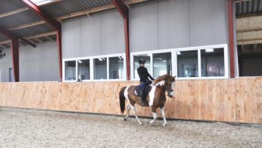 Hornum-Ulstrup Rideklub er klar efter genopbygning