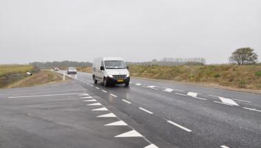 2300 biler benytter den nye ringvej ved Aars hver dag