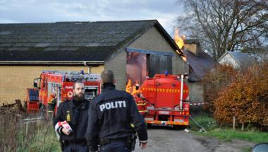 Litauisk pyroman bag branden ved Hornum