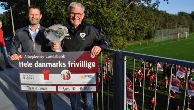 Hele Danmarks frivillige er i Aars IK