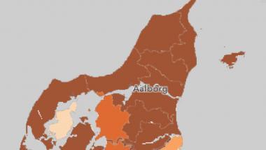 Covid-19: 860 nye tilfælde - tre flere i Vesthimmerland