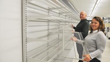Frivillige har knoklet for butikken i Vegger
