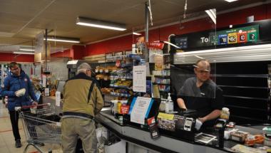 Røveriforsøg i Hornum: Ekspedienten er ok