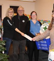 Uddeling af julehjælp i Aars succes på baggrund af stor lokal opbakning