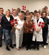 Palliativt Afsnit i Farsø modtager Patienternes Pris 2019