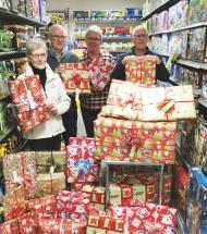 250 lokale familier får ekstra hjælp til julen
