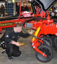 Erhvervsskolerne Aars indtager København med store maskiner!