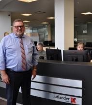 Medvind på alle cykelstier for Jutlander Bank