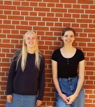 To elever fra Aars drager et år i udlandet med PIU-ordningen