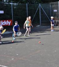 Mange til Åbent Hus i Aars Tennisklub