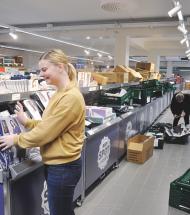 Aldi i Aars klar til at fejre åbning af udvidet butik