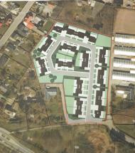 25 nye rækkehuse på gartnerigrund i Nørager