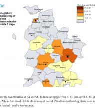 Covid-19: Stort fald i Vesthimmerland