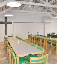 Provstikontor er nu en del af kirkecentret