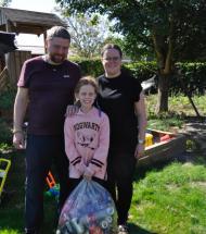 Otte-årig gav håret til Aars Knækker Cancer
