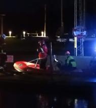 Lastbil ødelagde broklap: Hvalpsund færgen sejler ikke